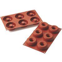 Форма для приготовления пончиков donuts ?7,5/2,5 см силиконовая 26.170.00.0065