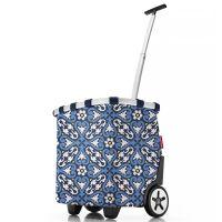 Сумка-тележка Carrycruiser floral 1 Reisenthel OE4067
