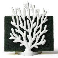Держатель для мочалок coral sponge белый QL10335-WH