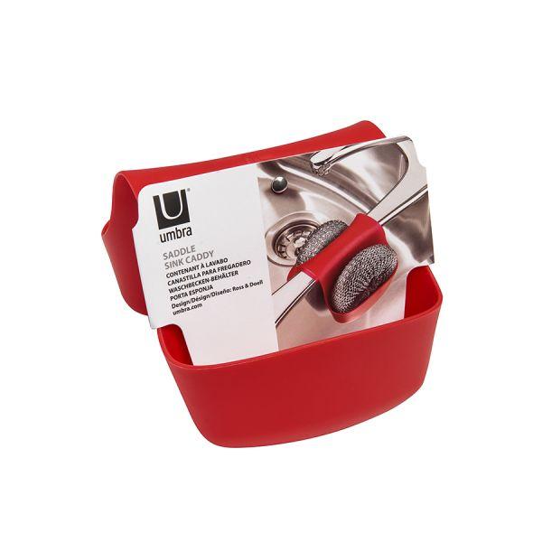 Органайзер для раковины Saddle красный 330210-505