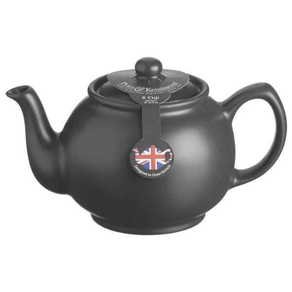 Чайник заварочный matt glaze 1,1 л черный P_0056.736