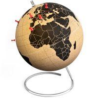 Пробковый глобус для путешественников SK CORKGLOBE1