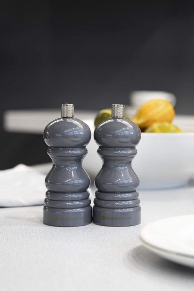 Мельница для соли и перца 12 Master Class Grey Kitchen Craft MCSNPDKGRY12