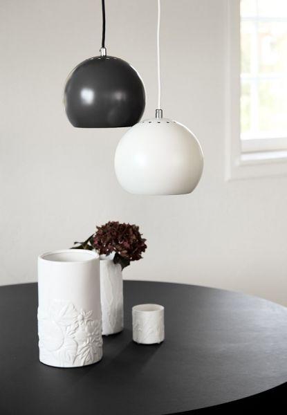 Лампа подвесная ball, ?25 см, черная матовая 1370050500101