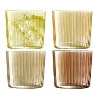 Набор из 4 стаканов Gems 310 мл янтарь LSA International G060-09-148