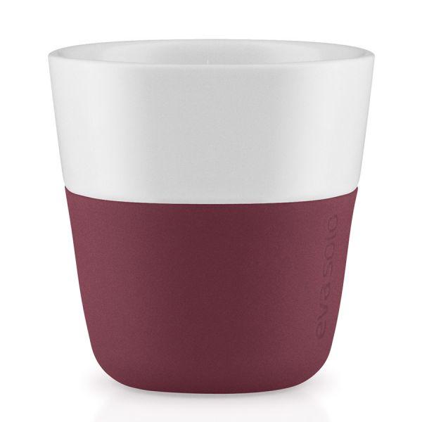 Чашки для эспрессо 2 шт 80 мл гранатовый 501091