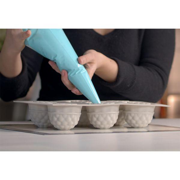 Форма для приготовления пирожных segreti del bosco 18 х 34 см силиконовая
