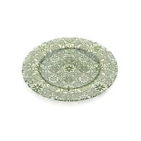 Блюдо плоское малое Arabesque зеленое 32 см IVV 7404.5