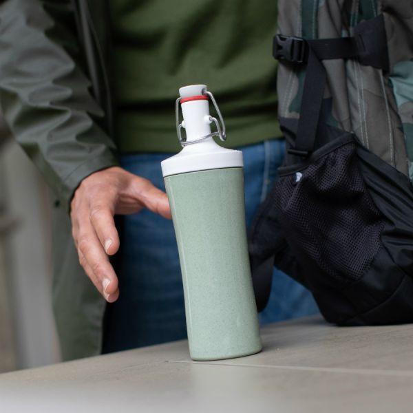 Бутылка для воды plopp to go organic 425 мл красная 3796676