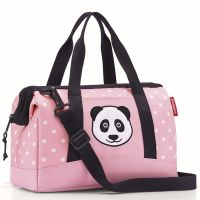 Сумка детская allrounder s panda dots pink Reisenthel IQ3072