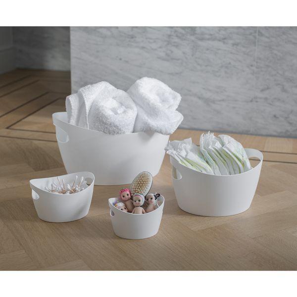 Контейнер для хранения bottichelli s 1,5 л organic белый 5731690