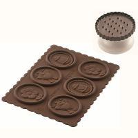 Форма для приготовления печенья easter slim силиконовая 22.174.77.0165