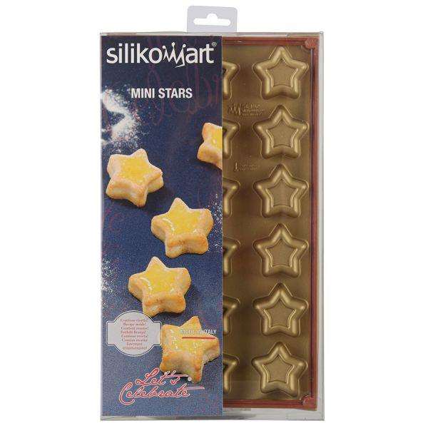 Форма для приготовления пирожных stars силиконовая