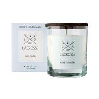 Свеча ароматическая в стекле круглая lacrosse Кислород 40 ч VV040OXLC