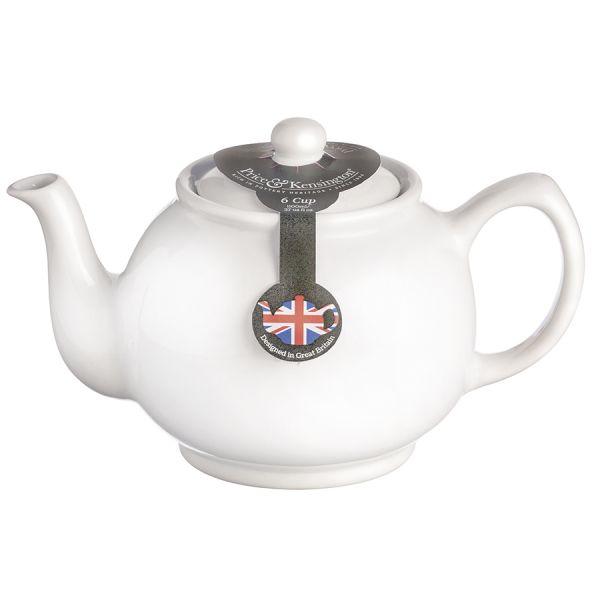 Чайник заварочный classic tones 1,1 л белый