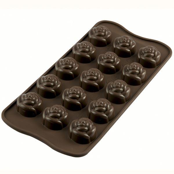 Форма для приготовления конфет rose силиконовая 22.113.77.0065