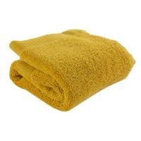 Полотенце для лица горчичного цвета из коллекции essential, 30х30 см TK21-FT0001