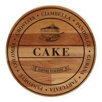 Доска сервировочная 'CAKE' 30x30x1,9 см BISETTI 26802