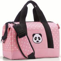 Сумка детская allrounder m panda dots pink Reisenthel IX3072