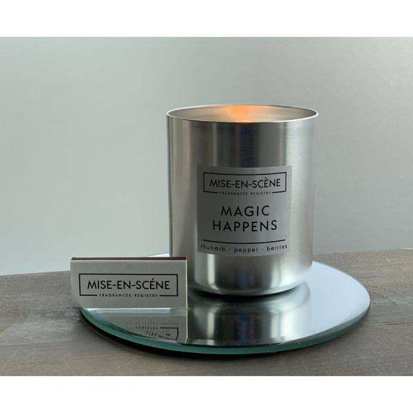 Свеча ароматическая mise en scene magic happens 50 ч VV050GRMS