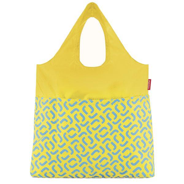 Сумка складная mini maxi shopper plus signature lemon AV2030