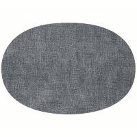Салфетка подстановочная овальная двухсторонняя fabric синяя Guzzini 22604681