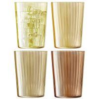 Набор из 4 стаканов Gems 560 мл янтарь LSA International G060-18-148