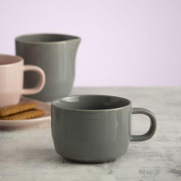 Чашка cafe concept 300 мл темно-серая 1401.821V