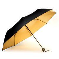 Зонт black and gold SK UMBRELLA3