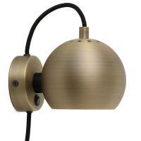 Лампа настенная ball, ?12 см, античная латунь, матовая 47501840011/104741