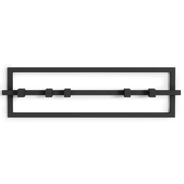 Вешалка настенная cubiko черная 1016881-040
