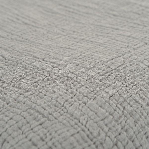 Покрывало из жатого хлопка серого цвета  из коллекции essential, 180х240 см TK20-BS0003