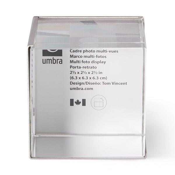 Фоторамка-куб ice frame никель 1013709-410