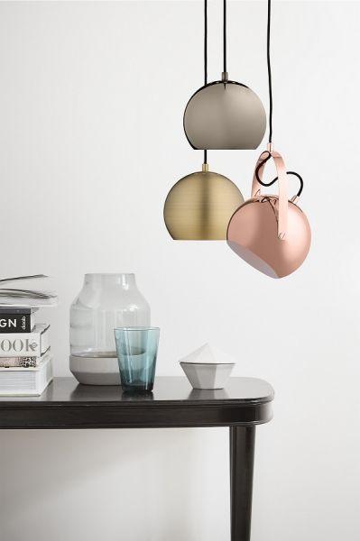 Лампа подвесная ball, античная латунь, матовая 111518405001