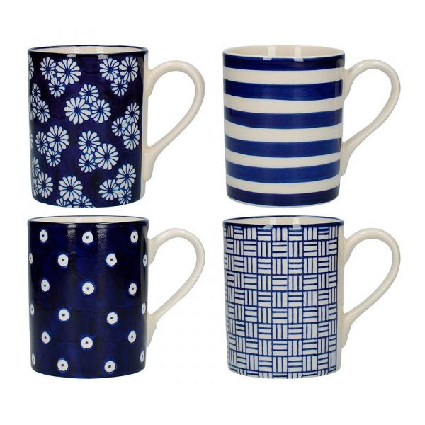 Набор из 4 кружек London Pottery KITCHEN CRAFT JY18LT16
