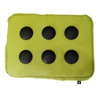 Подставка для ноутбука Surfpillow Hightech зеленая-черная 262853