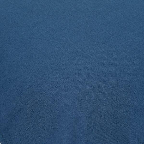 Простыня темно-синего цвета из органического стираного хлопка из коллекции essential TK20-SHI0001