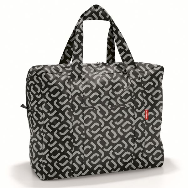 Сумка складная mini maxi touringbag signature black AD7054