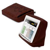 Подушка-подставка для планшета Hitech 2 с карманом тёмный школад, черный 262894