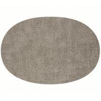 Салфетка подстановочная овальная двухсторонняя fabric светло-коричневая Guzzini 22604692