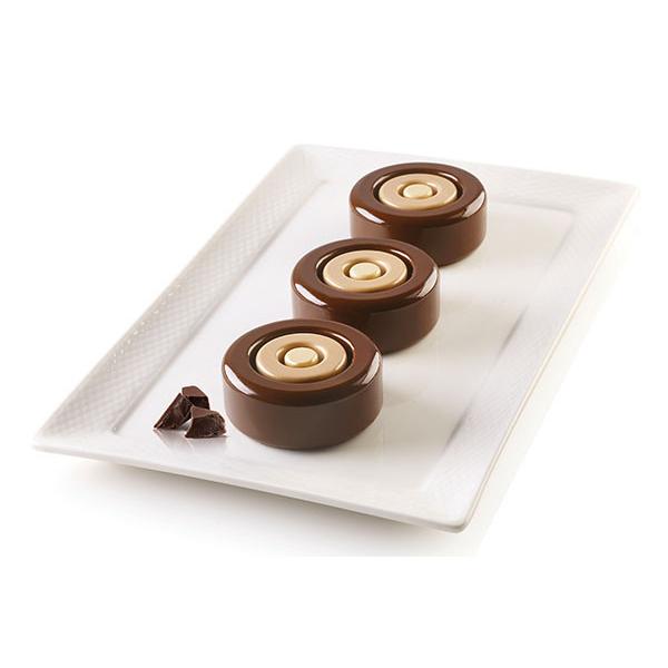 Форма для приготовления пирожных mini color силиконовая 26.338.13.0065