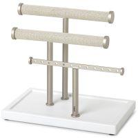 Органайзер для украшений trigem, белый/никель Umbra 1004447-670-REM