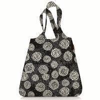 Сумка складная mini maxi shopper batik черная Reisenthel AT0034BK