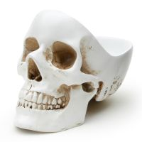 Органайзер для мелочей Skull, белый SK TIDYSKULL1
