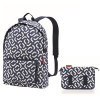 Рюкзак складной mini maxi signature navy AP4073