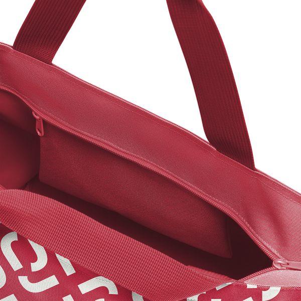 Сумка shopper m signature red ZS3070
