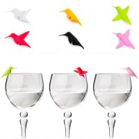 Маркеры для бокалов Humming bird 6 шт материал пластик QL10101-MX
