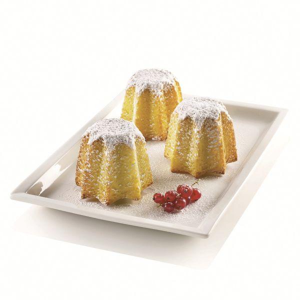 Форма для приготовления пирожных mini pandoro силиконовая
