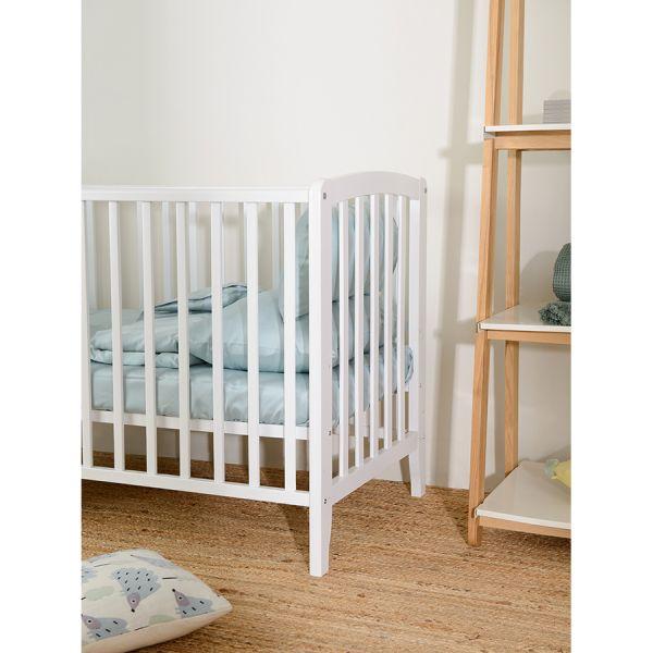 Комплект детского постельного белья из сатина голубого цвета из коллекции essential, 110х140 см TK20-KIDS-DC0007