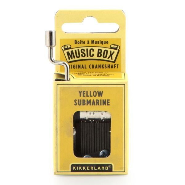 Шарманка карманная yellow submarine 1226